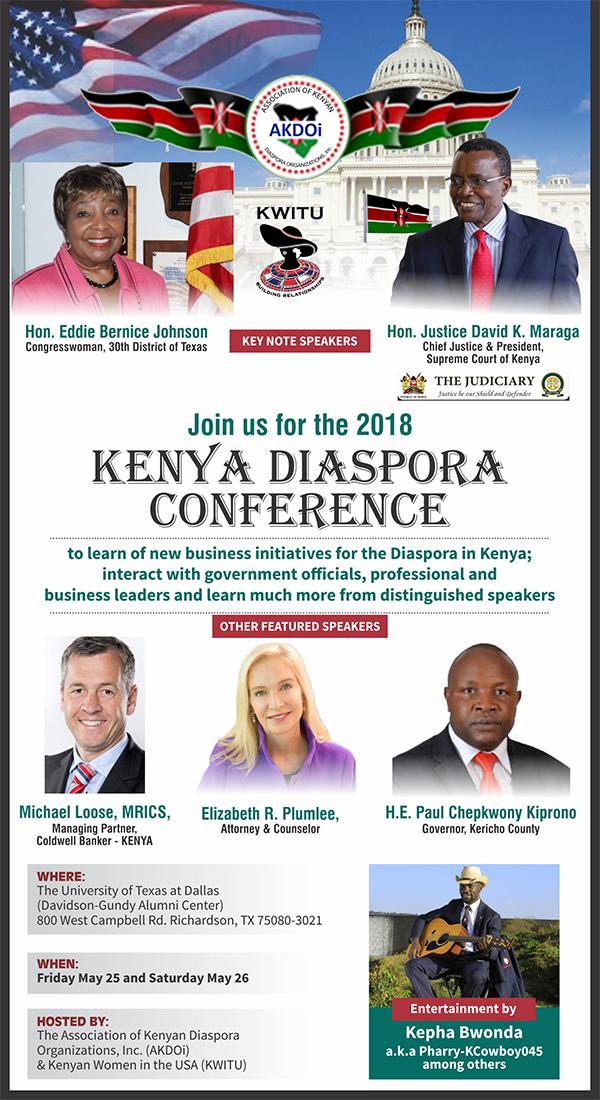 2018 Kenya Diaspora Conference